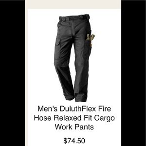 Duluth Trading Co Flex Fire Hose pants